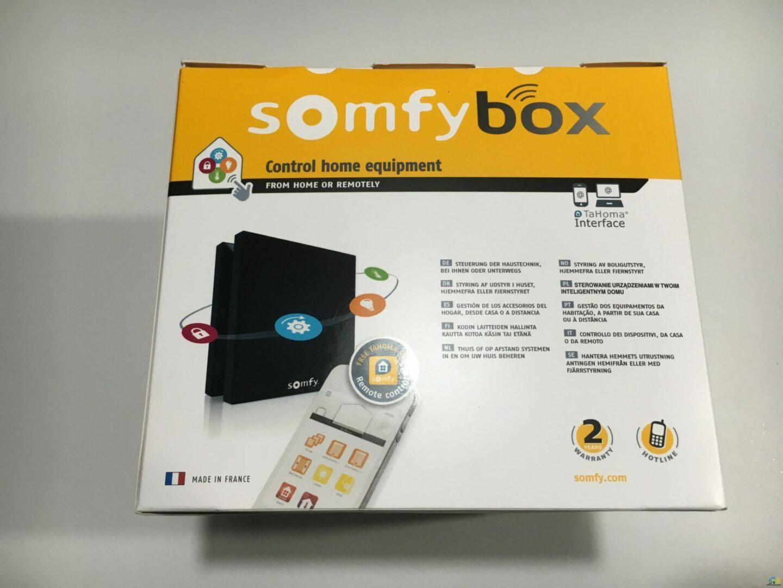 Pr sentation et test de la box domotique somfy box - Domotique arrosage automatique ...