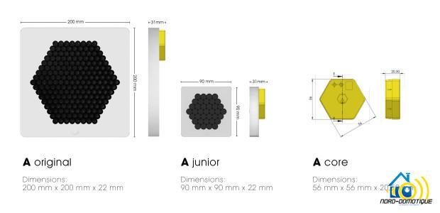 3 Enceinte 'A' Speaker - Disponible sur Indiegogo