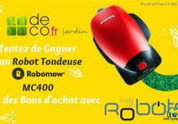 Bientôt l'été ! Un Robot Tondeuse ROBOMOW à gagner avec Bestofrobots.fr et deco.fr !