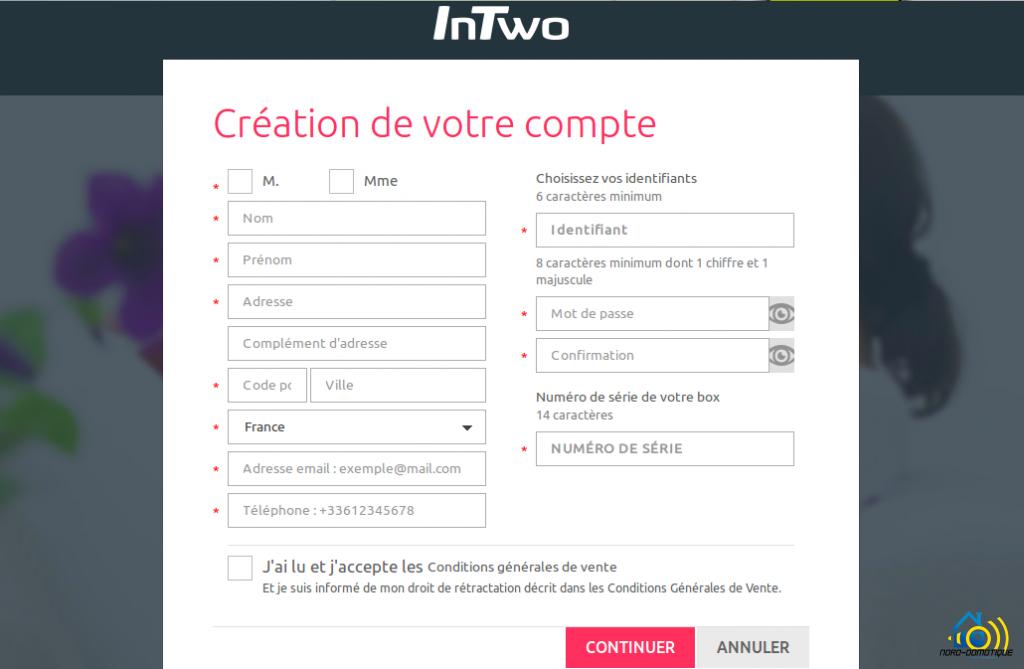 InTwo-Box-Capture-création-du-compte-1024x669 Premier contact avec la Sagemcom InTwo box