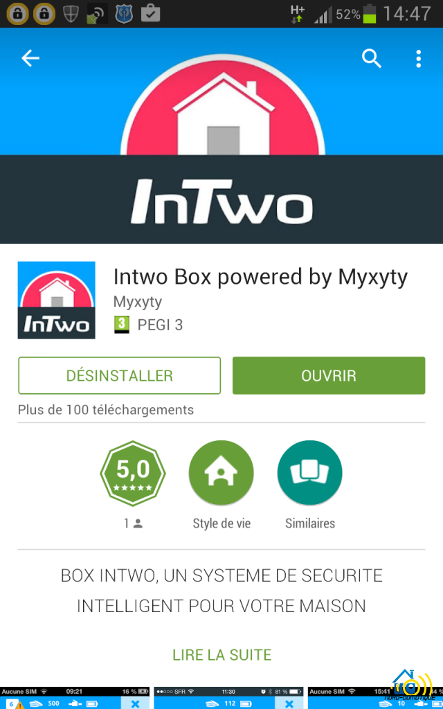 InTwo-Box-Capture-google-play-640x1024 Premier contact avec la Sagemcom InTwo box