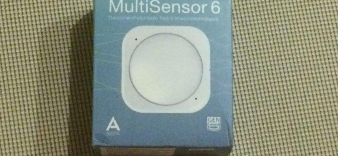 A Relire notre guide d'utilisation du Multisensor 6 d'Aeotec avec la Jeedom