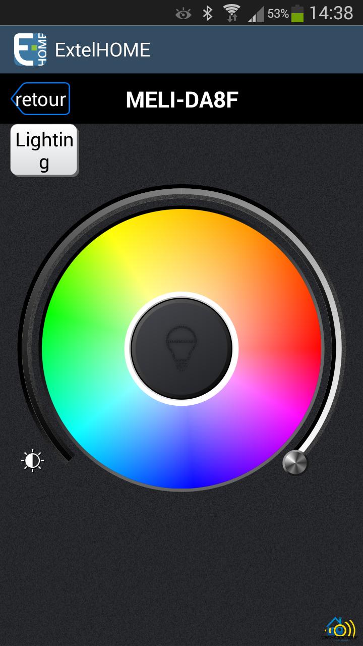 Screenshot_2016-04-19-14-38-32 Présentation et test de l'ampoule connectée Meli de chez Extel