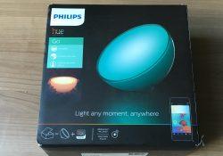Test de la lampe Philips Hue Go