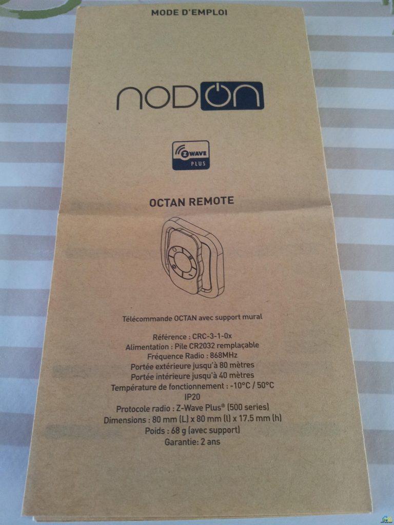 CRC_3_1_00-notice-francais-768x1024 Présentation et test de la télécommande NODON associée à l'eedomus