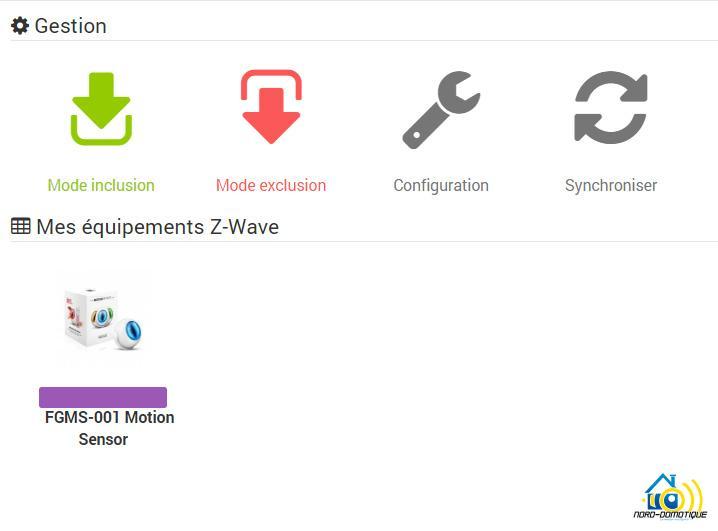 Module-reconnu Présentation et test du Motion Sensor FIBARO FGMS-001