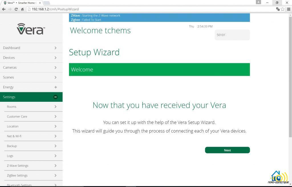 Vera-parametre13-1024x656 Présentation et test de la VeraPlus