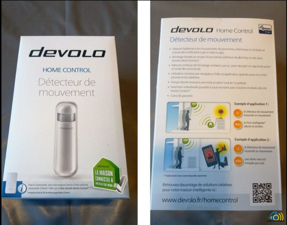 1-3-1 Présentation et test du détecteur de mouvements Home Control Devolo