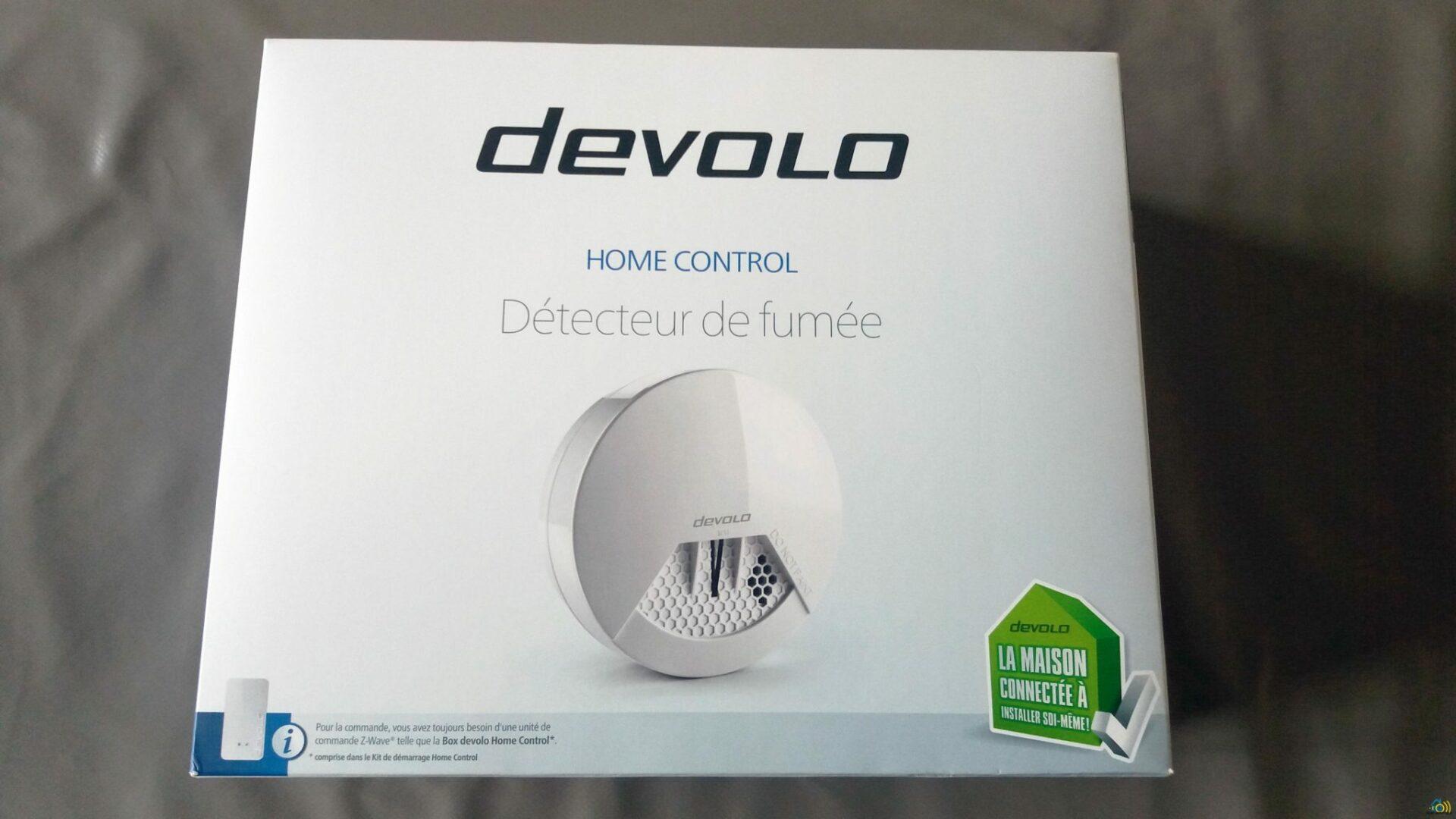 1 Présentation et test du détecteur de fumée Home Control de chez Devolo