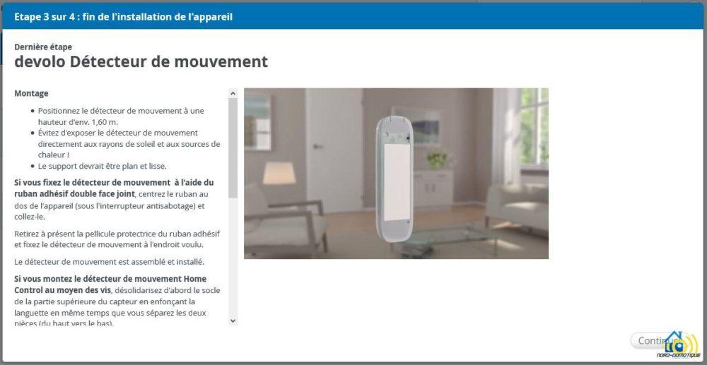 10-1 Présentation et test du détecteur de mouvements Home Control Devolo