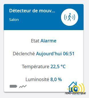 13-1 Présentation et test du détecteur de mouvements Home Control Devolo