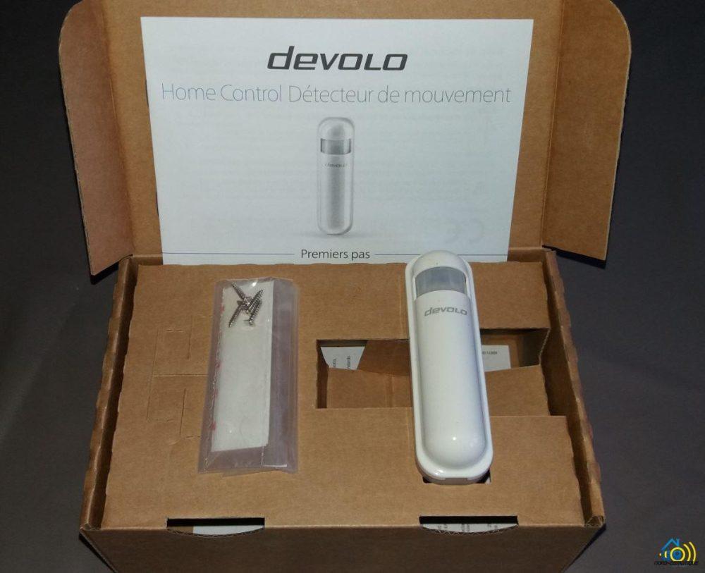 2-1 Présentation et test du détecteur de mouvements Home Control Devolo