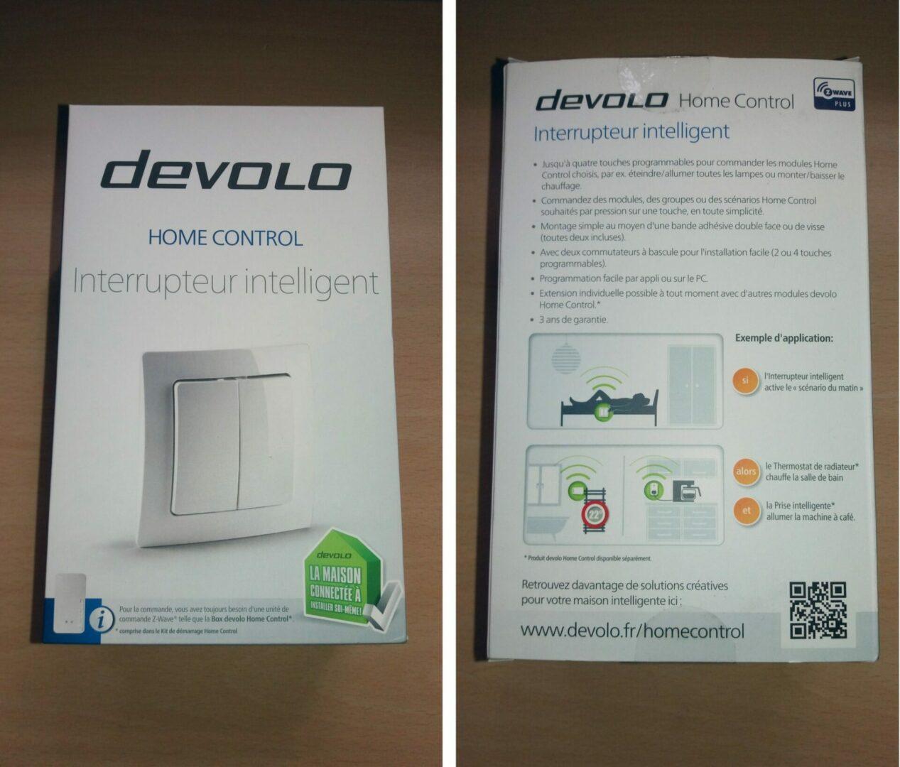 2-2 Présentation et test de l'interrupteur intelligent Home Control Devolo