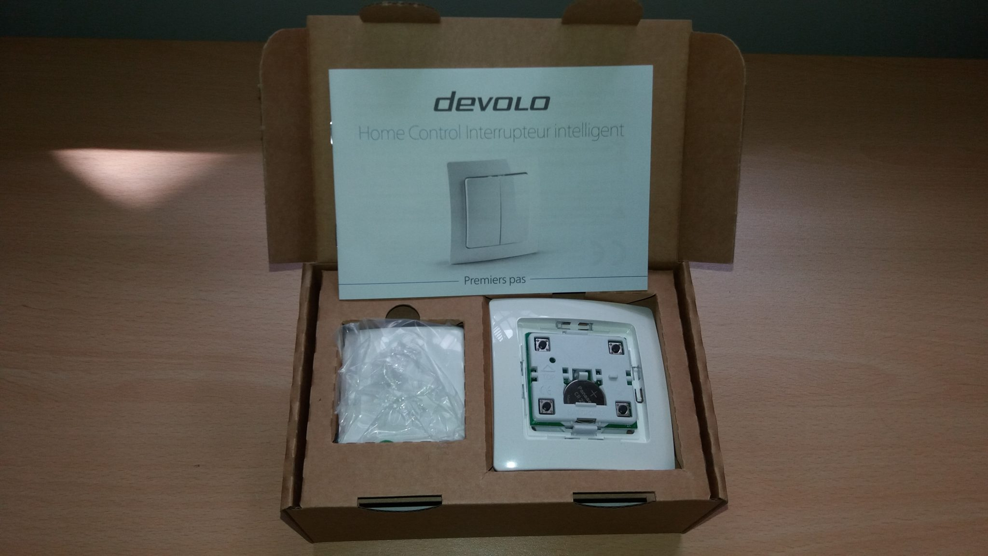3-1 Présentation et test de l'interrupteur intelligent Home Control Devolo