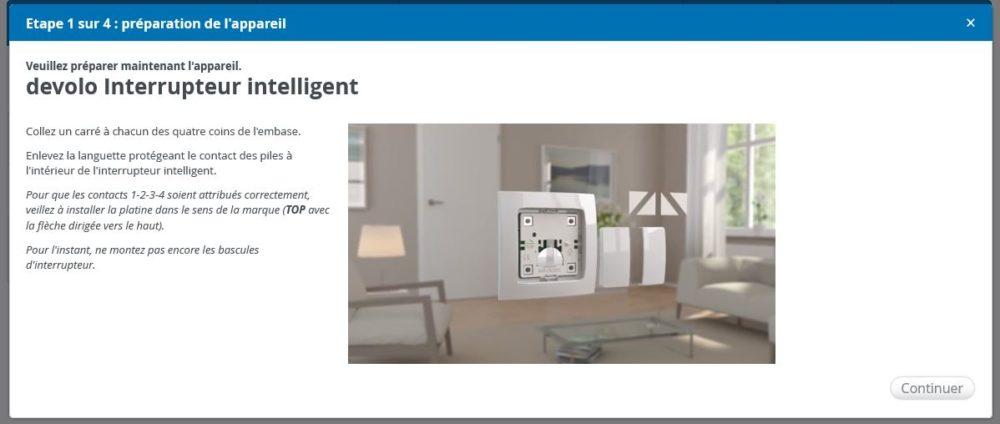 7-1 Présentation et test de l'interrupteur intelligent Home Control Devolo