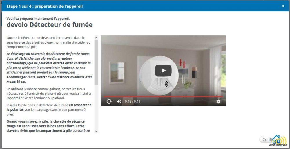 7 Présentation et test du détecteur de fumée Home Control de chez Devolo