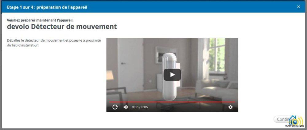 8-1 Présentation et test du détecteur de mouvements Home Control Devolo