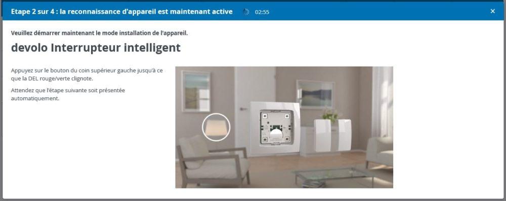 8-2 Présentation et test de l'interrupteur intelligent Home Control Devolo