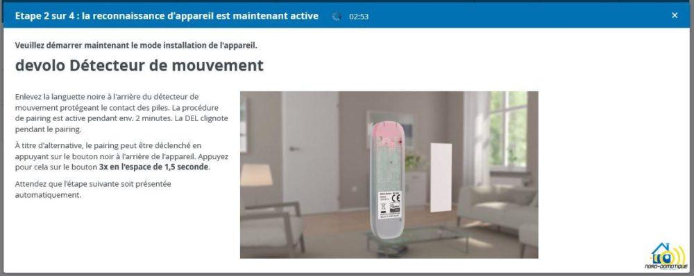 9-1 Présentation et test du détecteur de mouvements Home Control Devolo