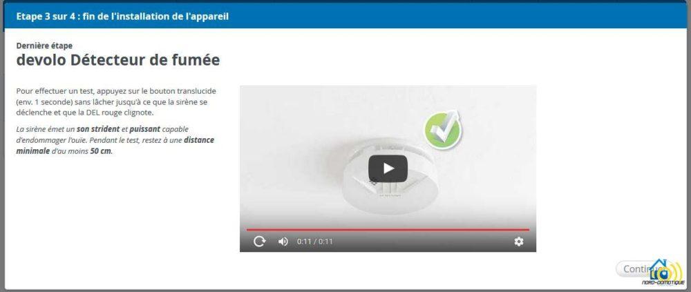 9 Présentation et test du détecteur de fumée Home Control de chez Devolo