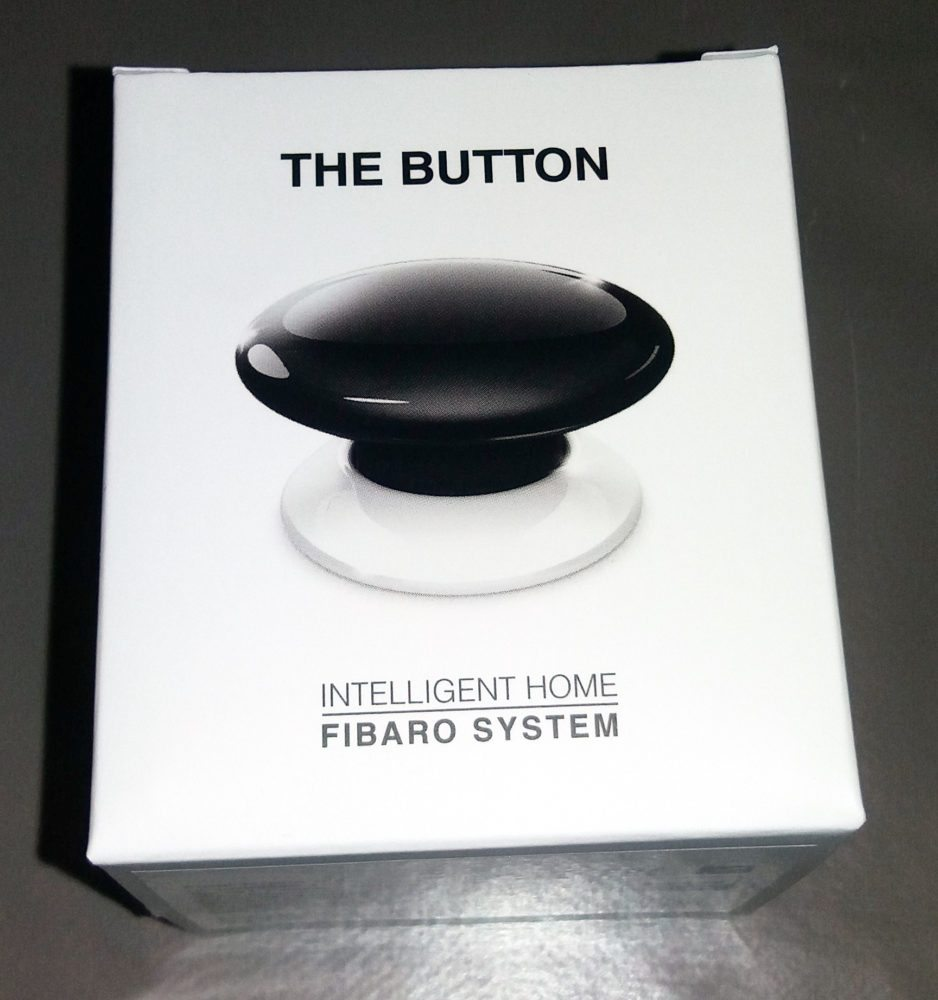 "1 Test de ""The Button"" Fibaro sur la Eedomus"