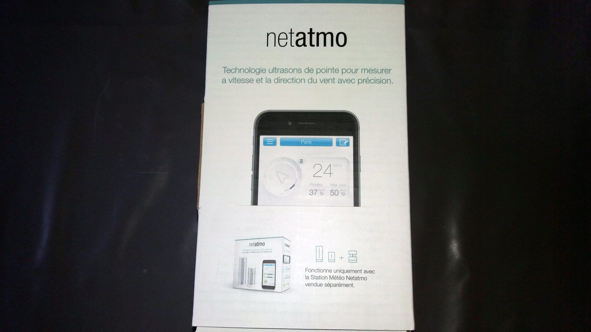 test netatmo la station meteo connectee maison et domotique. Black Bedroom Furniture Sets. Home Design Ideas