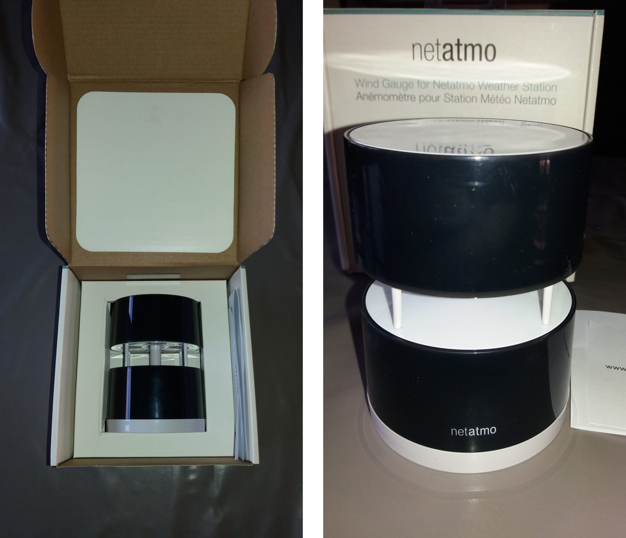 6-6 Test de la station météo Netatmo et ses modules aditionnels