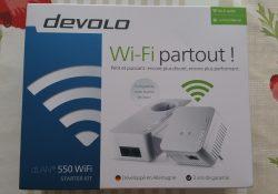 dLAN 550 Wifi Starter Kit CPL