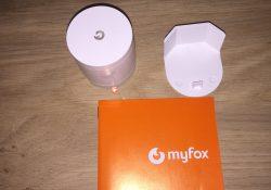Présentation et test du détecteur de Mouvement Myfox