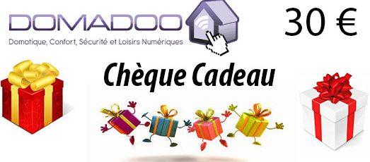 Chèquecadeaudomadoo-523x230 Jeu concours : Le Père Noël passe chez Nord-Domotique