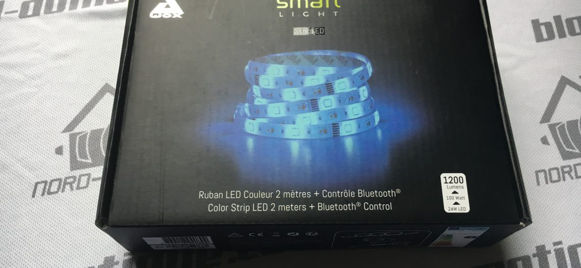 Test Ruban LED Awox SmartLight Couleur