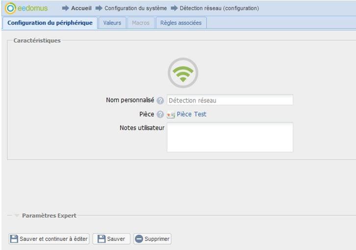 04 Mise à jour Eedomus - Utilisation du détecteur DHCP