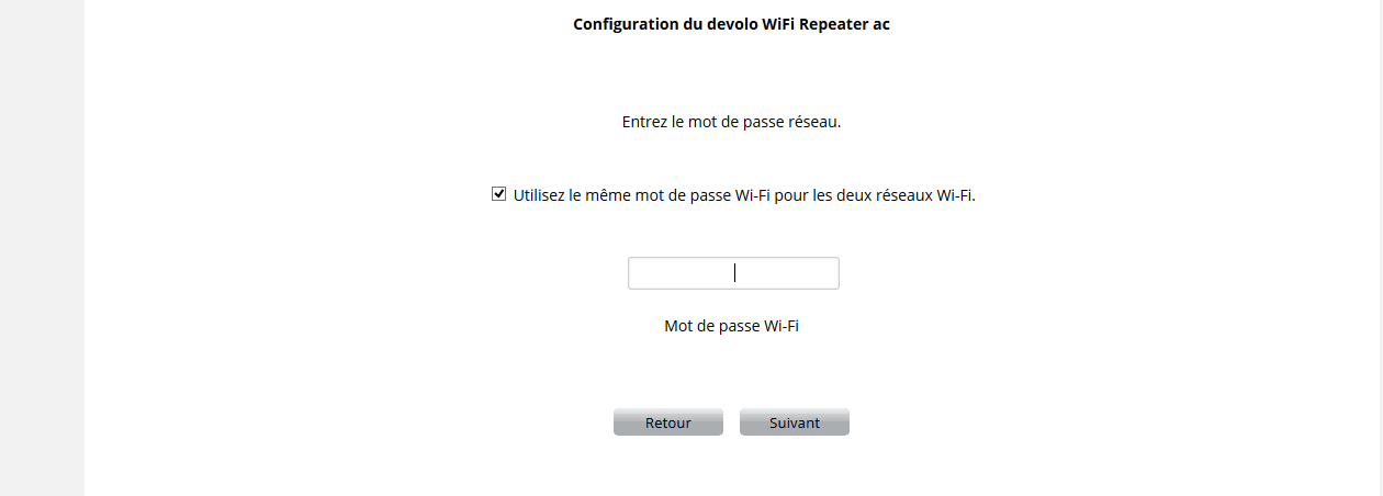 WIFI6 Devolo WIFI Repeater ac