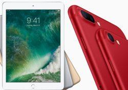 Notre Veille : Un nouvel iPad à 409 euros et un iPhone 7 rouge, les annonces surprises d'Apple