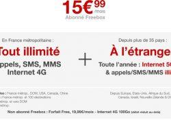 Notre Veille : la 4G désormais illimitée pour les abonnés Freebox