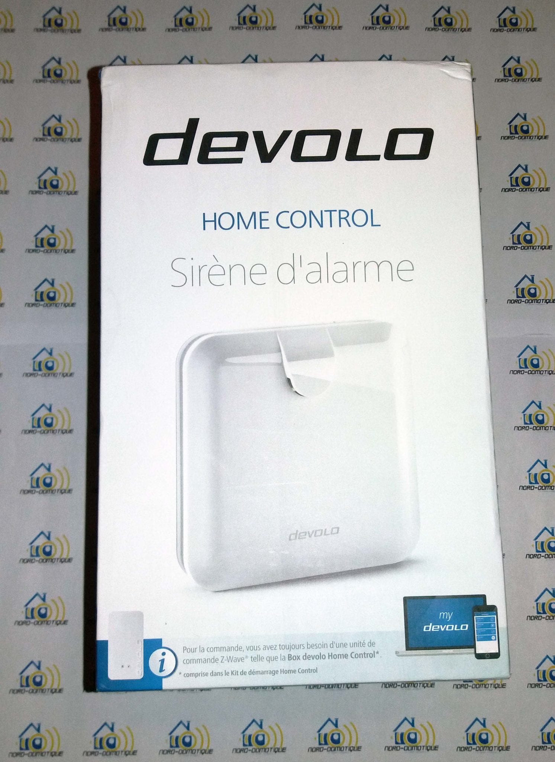 01-2 Test de la sirène d'alarme de la gamme Home Control de chez Devolo