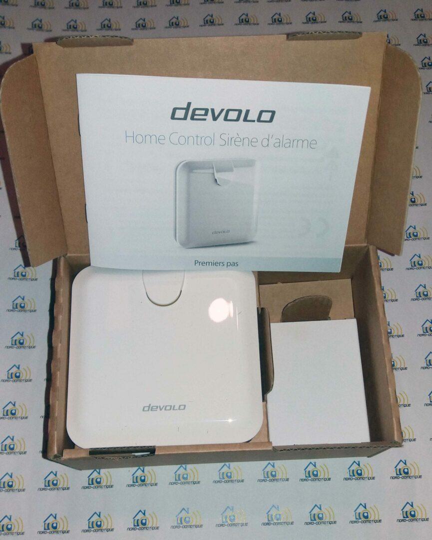 03-2 Test de la sirène d'alarme de la gamme Home Control de chez Devolo