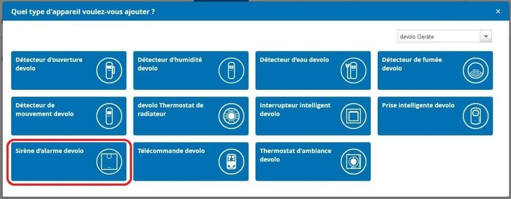 07-2 Test de la sirène d'alarme de la gamme Home Control de chez Devolo