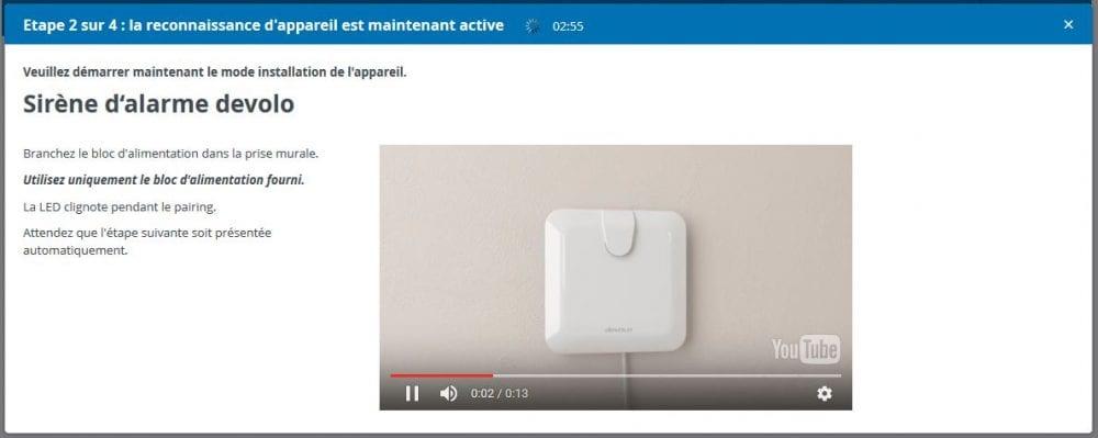 09-2 Test de la sirène d'alarme de la gamme Home Control de chez Devolo