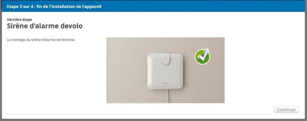 10-2 Test de la sirène d'alarme de la gamme Home Control de chez Devolo