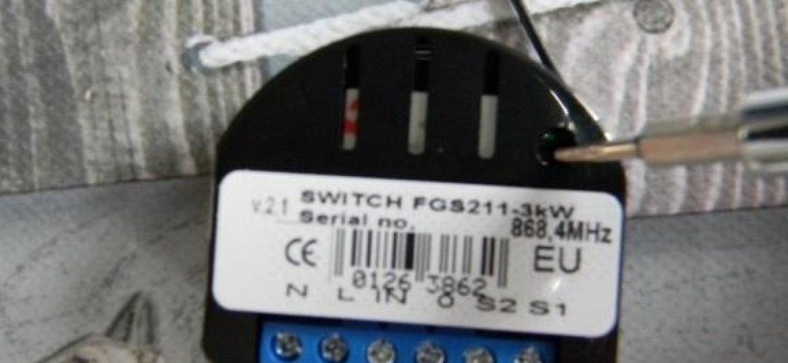 Guide d'installation du Relay Switch Fibaro sur la Vera Edge