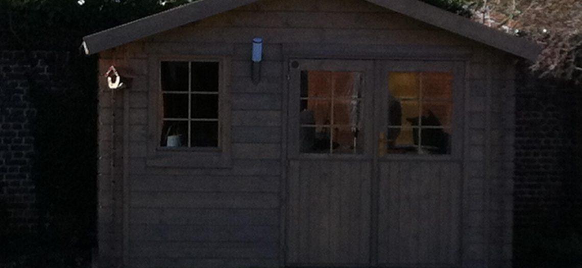 A revoir : Domotiser son abris de jardin