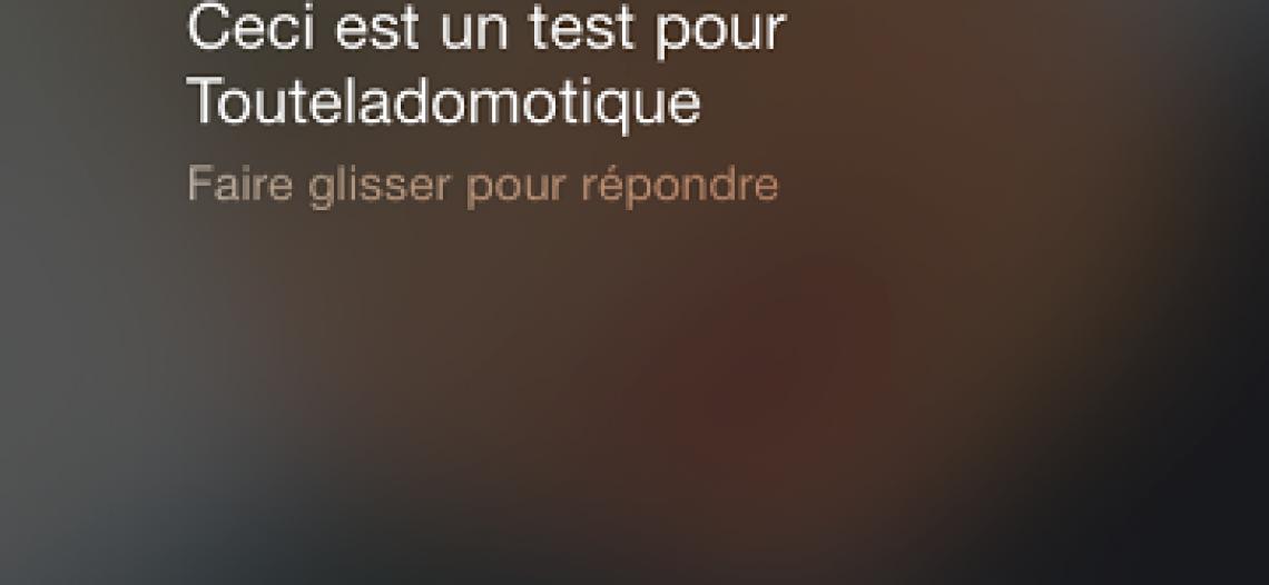 A relire : Notification SMS avec Free  avec la Eedomus