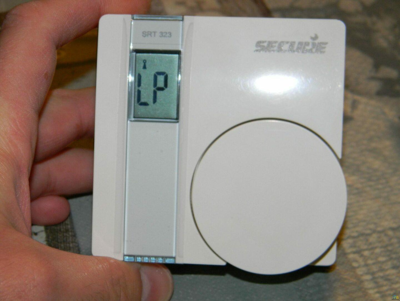 10 Test du Thermostat SRT323 sur Vera Edge