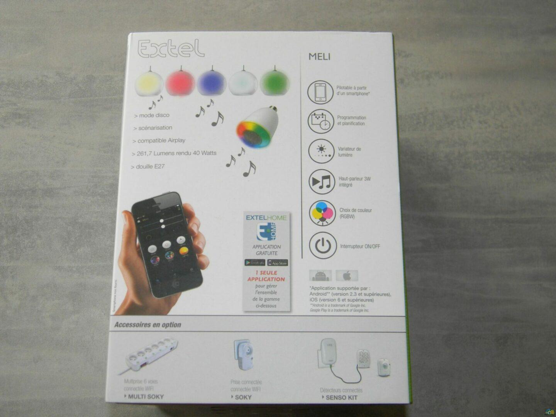 3-1 Présentation et test de l'ampoule connectée Meli de chez Extel