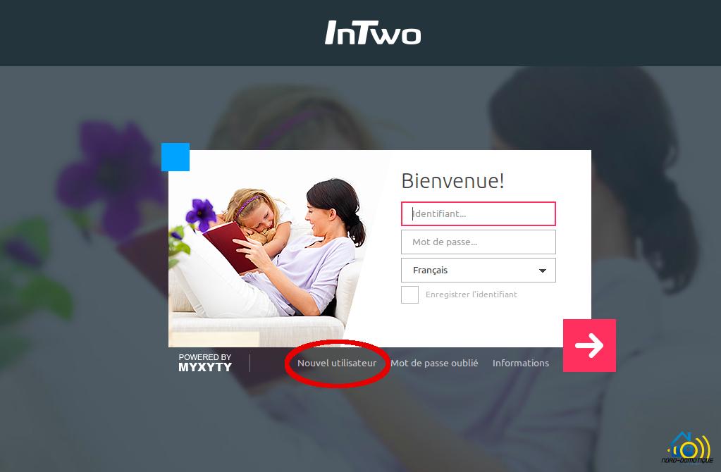 InTwo-Box-Nouvel-Utilisateur Premier contact avec la Sagemcom InTwo box