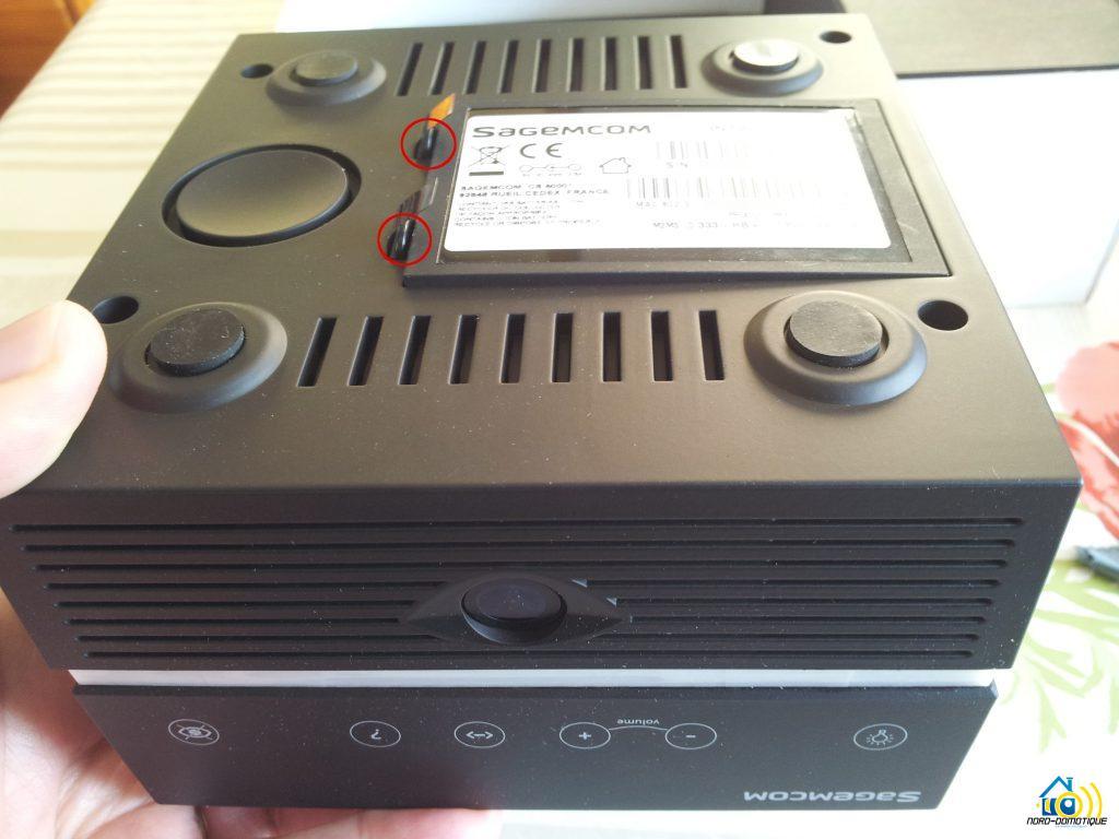 InTwo-Box-Ouverture-cache-batterie-1024x768 Premier contact avec la Sagemcom InTwo box