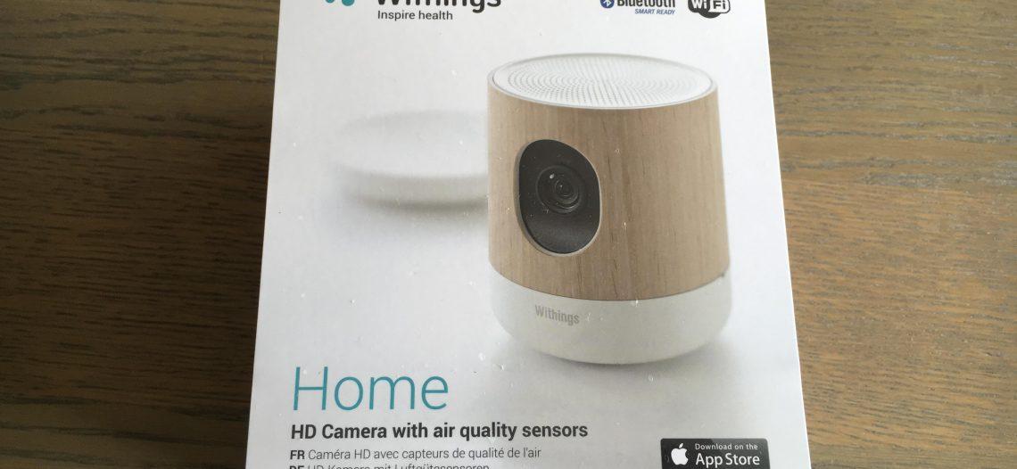 Présentation et test de la caméra Withings Home