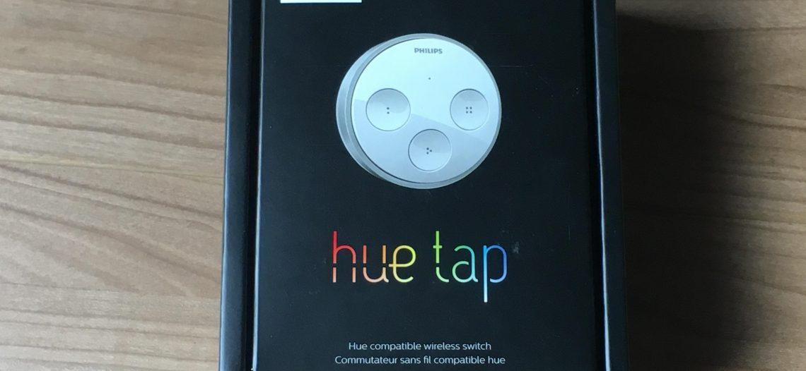 Présentation et test de la télécommande Hue Tap