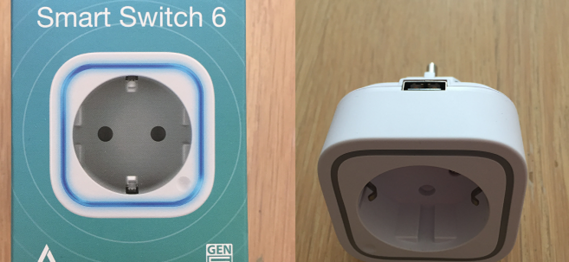 Test prise Smart Switch 6 Aeotec avec la Eedomus